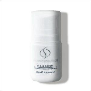 witte flacon A.C.E Serum van OrganicSpa