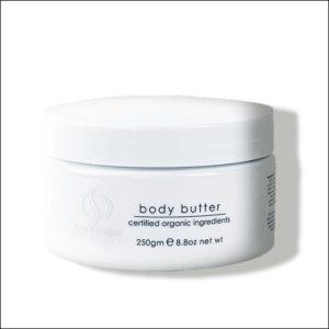 witte pot Body Butter van OrganicSpa