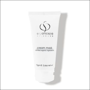 witte tube Cream Mask van OrganicSpa