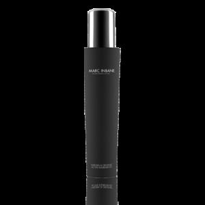 zwarte flacon met zilverkleurig deksel Marc Inbane