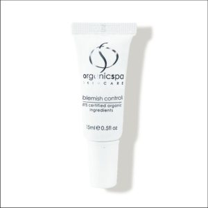 Witte tube Blemish Control van OrganicSpa